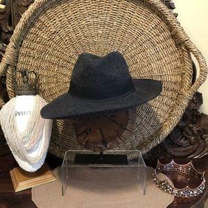Michael Stars- NWT- Black Fedora 100% Wool